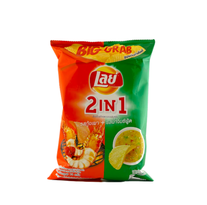 Chips 2 in 1 Kung Pao 73g Lays Thailand