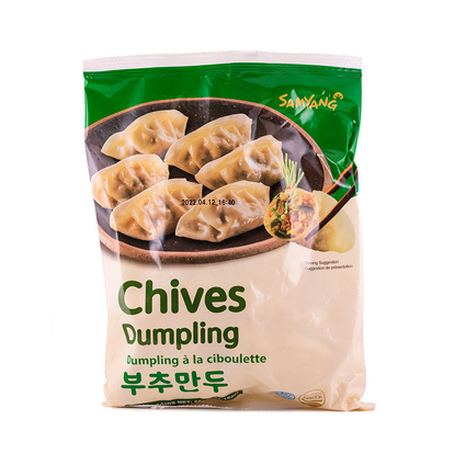 Dumpling Chives 600g Samyan Korean