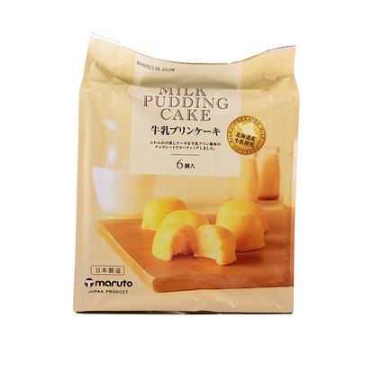 Pudding Mjölk Kaka 174g Maruto Japan