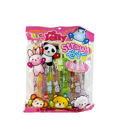 Jelly Stick Frukt Smak 400g ABC Taiwan
