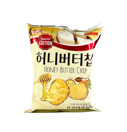 Potatis Chips Honung/Smör/Ost 60g Calbee Korean