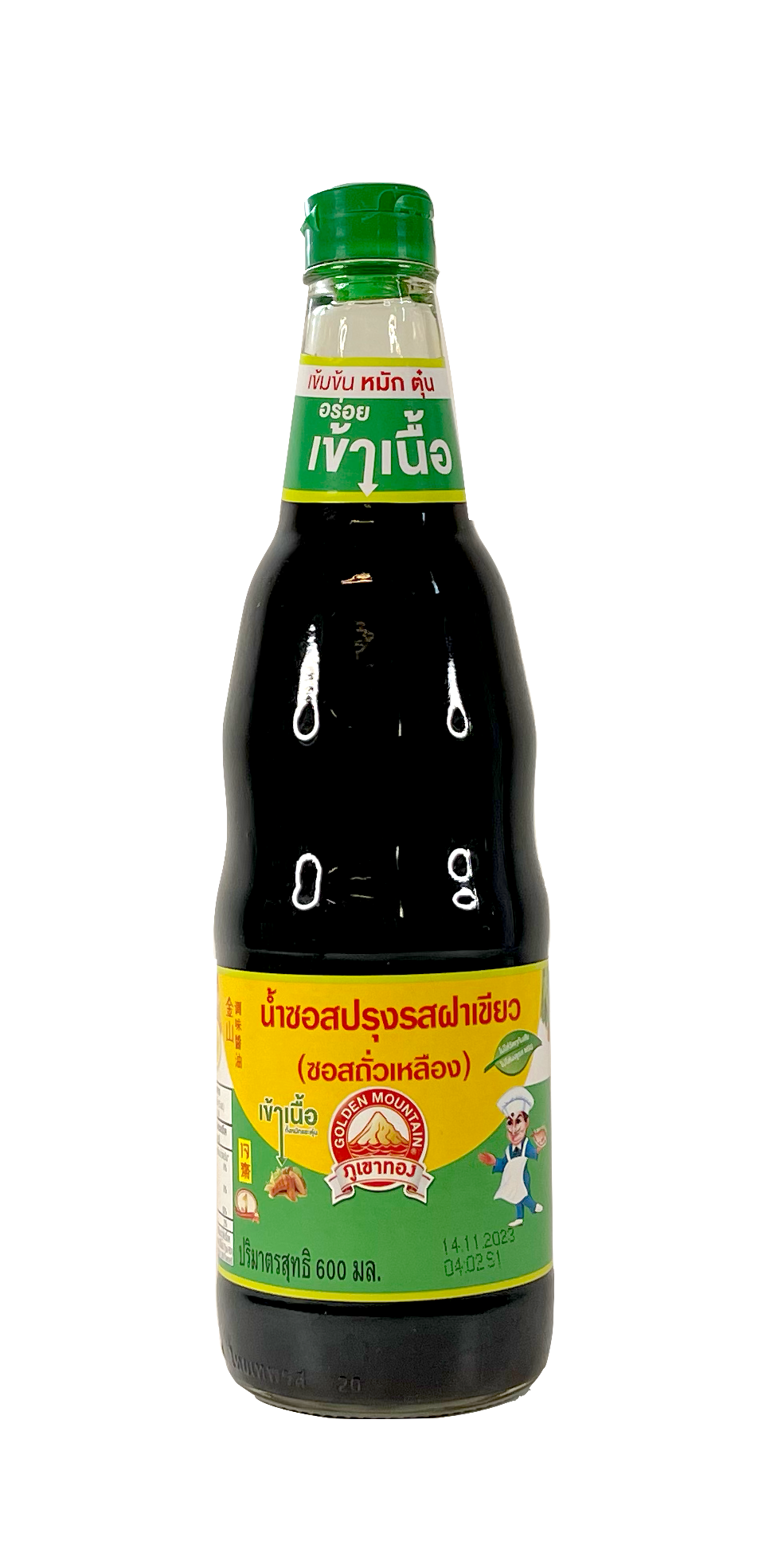 Sojasås 600ml Golden Mountain Thailand