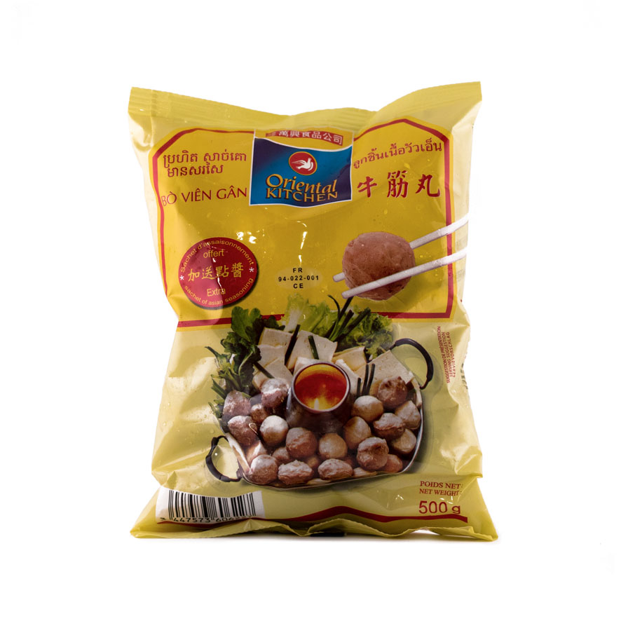 Nötköttbulle Gan 500g Oriental Kitchen